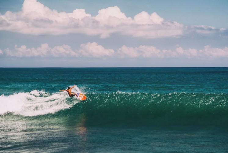 Canggu plaža za surfere